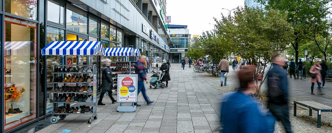 Hammer Schuh Alexanderplatz