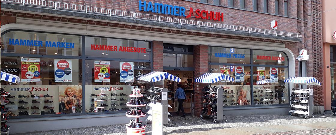 Hammer Schuh Stralsund